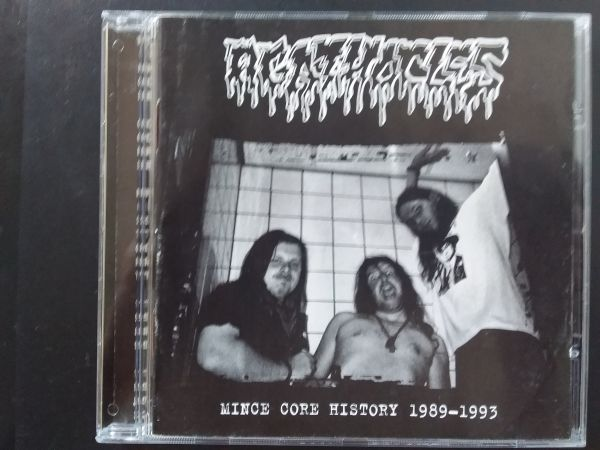 CD - Agathocles – Mince Core History 1989-1993