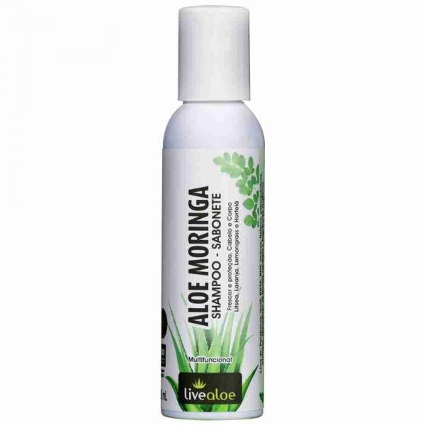 Aloe Moringa Shampoo Sabonete