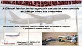 Lentes especiais para controle de tráfego Aéreo