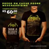Camiseta Atropina - Prego em Carne Podre
