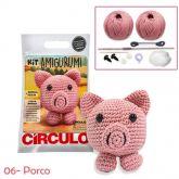 Kit Amigurumi - 06 - Porco