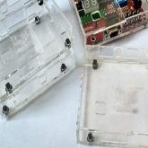 COD 1088 - Case Acrilica PB600/2 para Montagem PIC16F877A