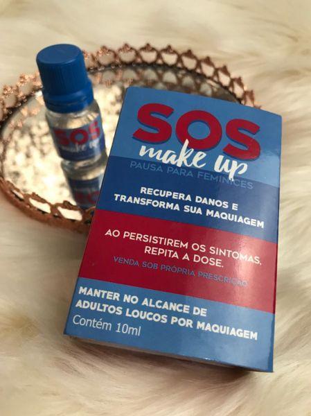 PROMOÇÃO DILUIDOR SOS Makeup Pausa para Feminices