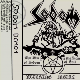 SODOM - Witching Metal - CASSETE