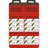 Laminas Wilkinson Uso Geral Navalha e Barbeadores Cartela com 20 Caixas
