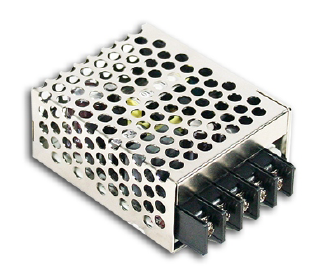 RS-15-12 Fonte Chaveada Industrial Mini 12V / 1,3A Mean Well