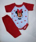 Conjunto Body com calça Minnie - Tam. G