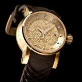 b19ca238021 Relógio Invicta Yakuza Dourado Preto Automático
