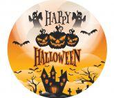 Papel Arroz Halloween Redondo 007 1un