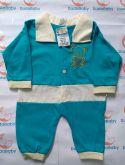 Macacão de bebê Ursinho - Tam. P