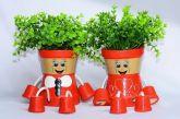 Casal De Vaso De Plantas Articulado