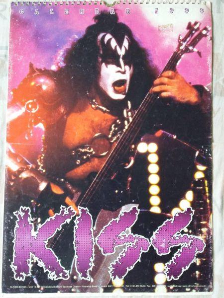Calendário KISS 1999