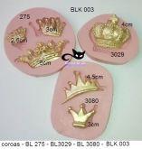kit coroas variadas BLK 003
