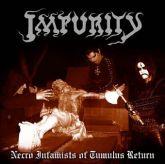 CD - Impurity - Necro Infamists of Tumulus Return - digipack