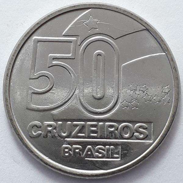 50 Cruzeiros 1991 SOB/FC