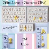 Mini Letras e Números