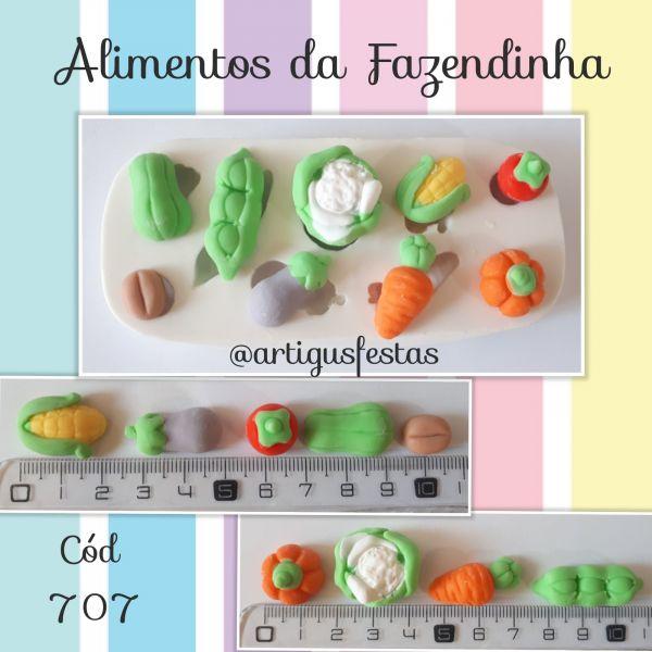Alimentos da fazendinha