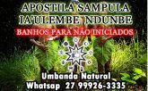 APOSTILA SAMPULA IA'ULEMBE NDUNBE - Banhos para Não iniciados
