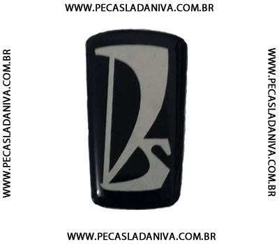 Emblema ou Plaquetinha Grade Dianteira Com Fita Colante 3m Ref. 0662