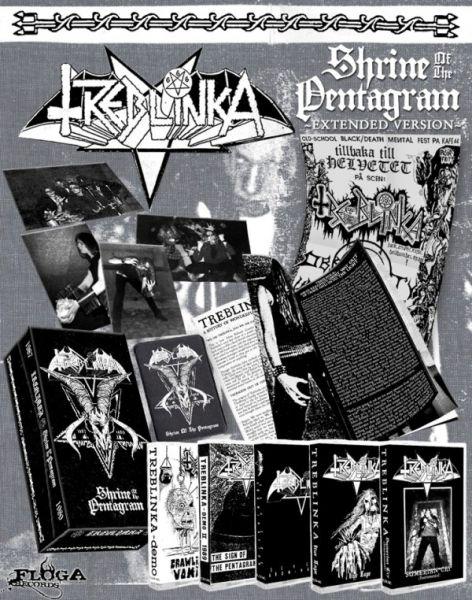 TREBLINKA - Shrine of the Pentagram (Extended Version)- TAPE (Boxet 5x tapes)