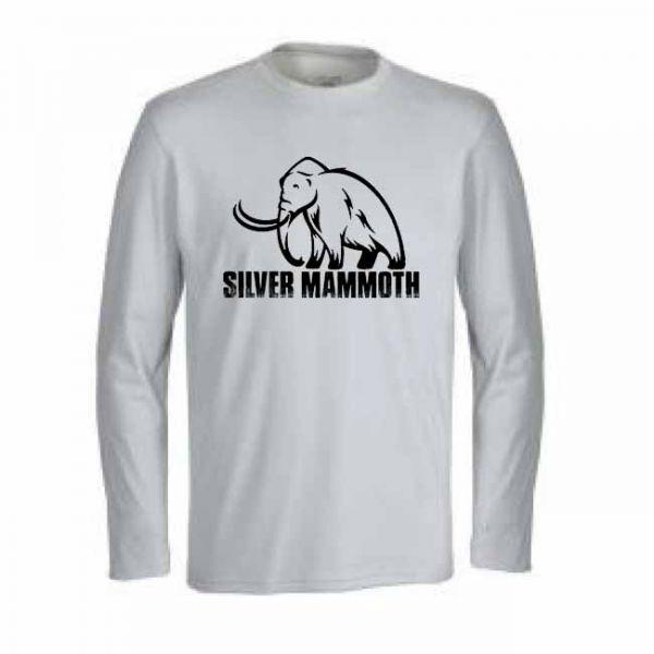 Manga Longa Silver Mammoth - Branca
