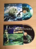Kit CD Khallice - Inside your head / The Journey - Autografado - Envelope