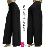 Pantalona preta (P -M-G)  em suplex gramatura alta