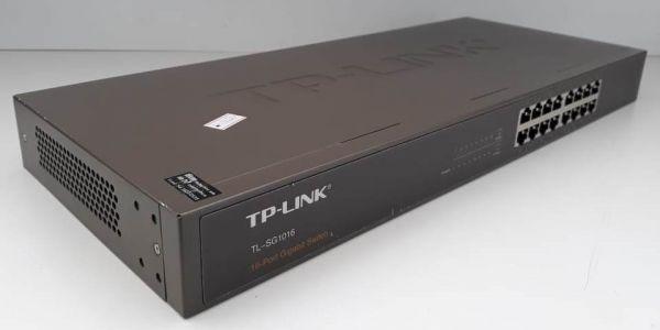 Switch TP-Link 16 Portas Giga Tl-SG1016 10/100/1000 Mbps