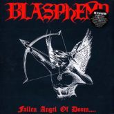 BLASPHEMY - Fallen Angel Of Doom - blue LP
