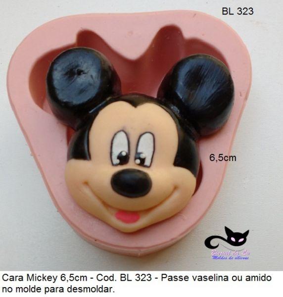 cara  Mickey  gd com 6,5cm