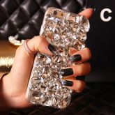 Capa iPhone 5/ 6 / 7 Diamante Cod 038