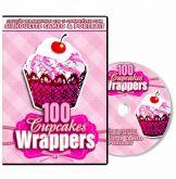 100 Cupcake Wrapper para Silhouette