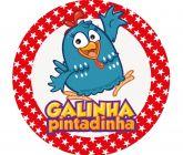 Papel Arroz Galinha Pintadinha Redondo 005 1un