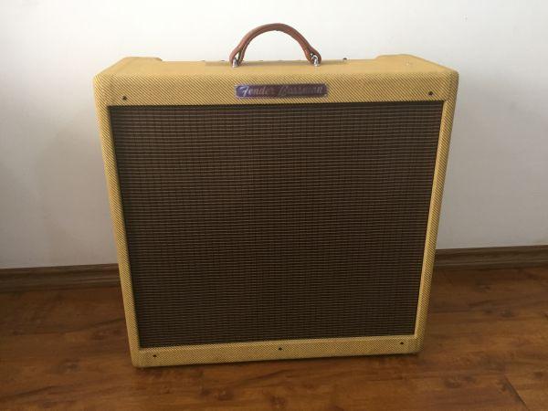 Promoção Bassman Fender  Reedição 2012  4x10 45W, 2 falantes alnico Weber