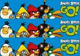 Papel Arroz Angry Birds Faixa Lateral A4 005 1un