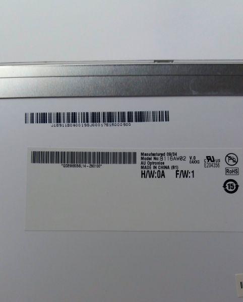 Tela LED Notebook 11.6' B116AW02 V.0