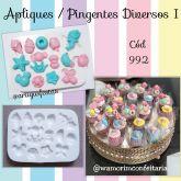 Apliques/ Pingentes Diversos (Mod.1)