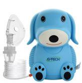 Nebulizador e inalador nebdog azul Gtech
