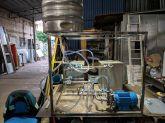 Lavadora de barril cervejaria