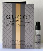 Amostra Gucci Made to Measure Masculino Eau de Toieltte 1,2 ml