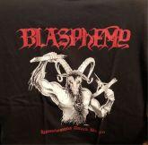BLASPHEMY - Blasphemous Attack Berlin - Official Shirt MEDIUM