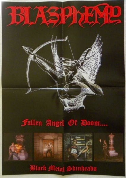 BLASPHEMY - Fallen Angel Of Doom - White LP