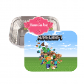 Marmitinha personalizada Minecraft