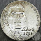 5 CENTS (NICKEL) 2006 LETRA P FC