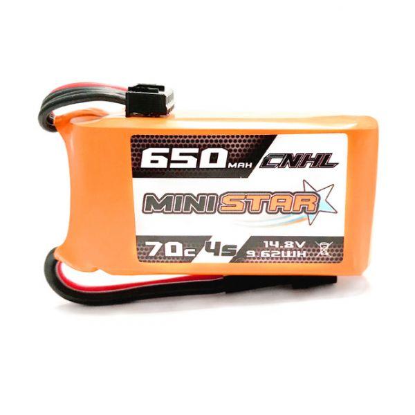 Bateria Lipo CNHL MiniStar 4S 14.8V  650mah 70C XT30
