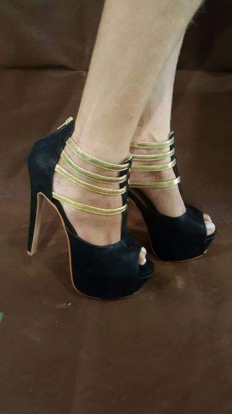 1b497d717 sandálias salto alto fino festa detalhe dourado - Poder do salto alto