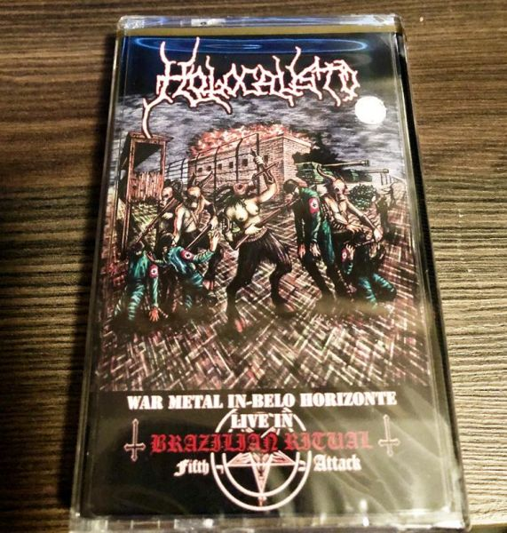 HOLOCAUSTO - War Metal in Belo Horizonte - Live in Brazilian Ritual Fifth Attack - CASSETE