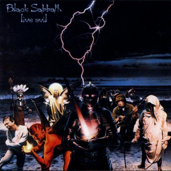 CD Black Sabbath – Live Evil ( Slipcase)