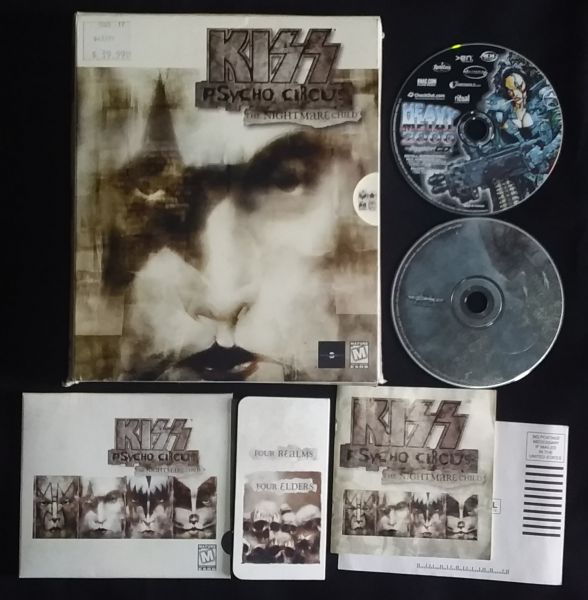 Jogo Para PC - Kiss - Psycho Circus (Importado)