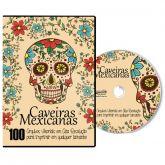 100 Caveiras Mexicanas para Imprimir e Colorir